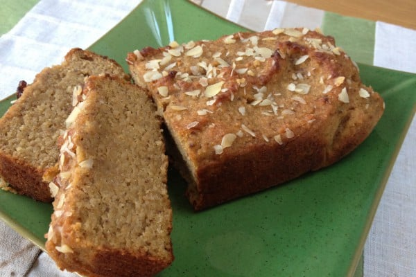 The food teacher apricot and almond loaf