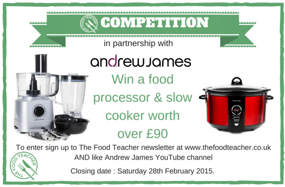 The Food Teacher Comp