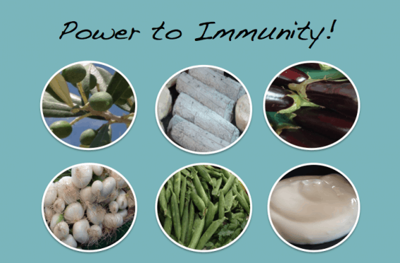Power to immunity The Food Teacher