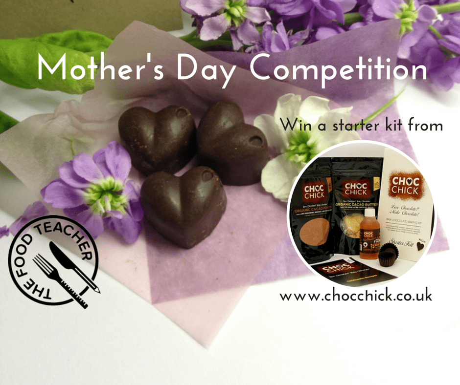 Win Raw Chocolate Making Kit For Mothers Day The Food