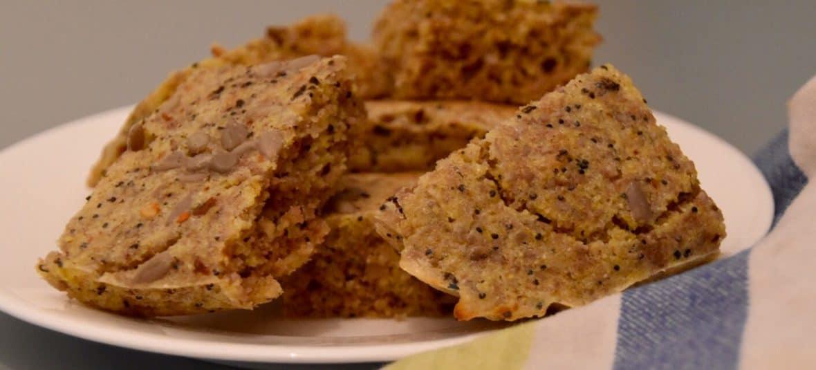 Sunflower Polenta Bread - The Food TeacherThe Food Teacher